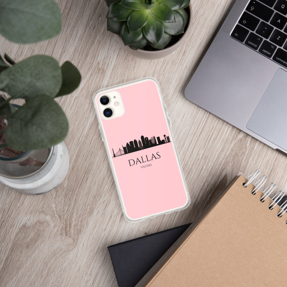 DALLAS PINK iPhone Case