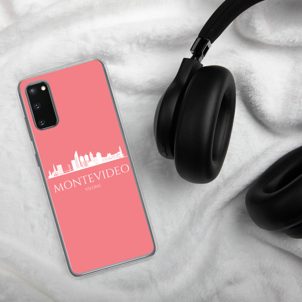 MONTEVIDEO PINK/WHITE Samsung Case
