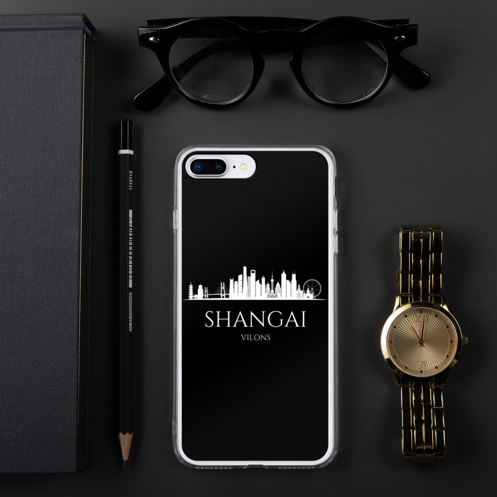 SHANGHAI DARK iPhone Case