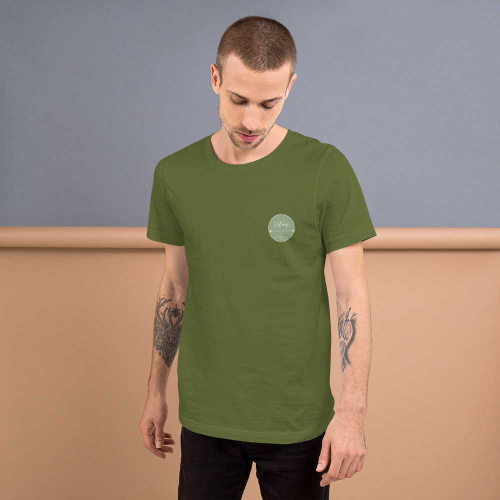 BILBAO DARK Short-Sleeve Unisex T-Shirt