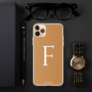 F BROWN iPhone Case