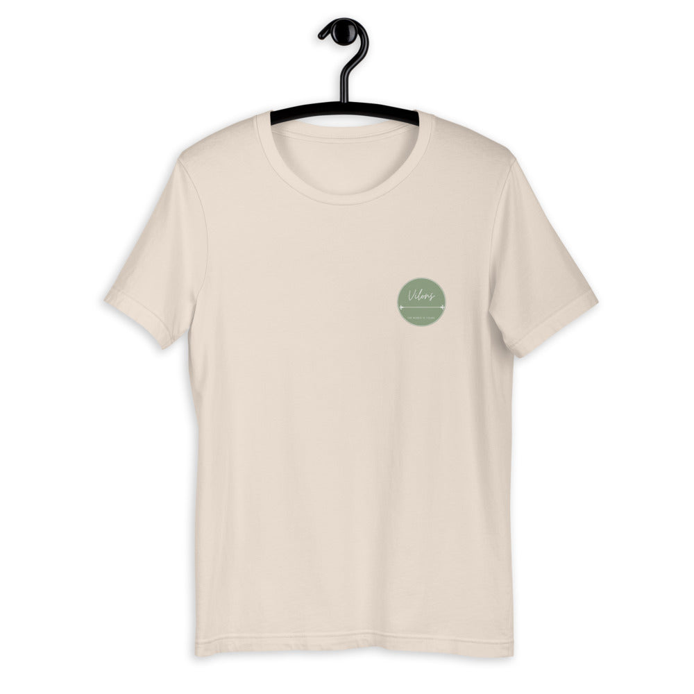 NICOSIA Short-Sleeve Unisex T-Shirt