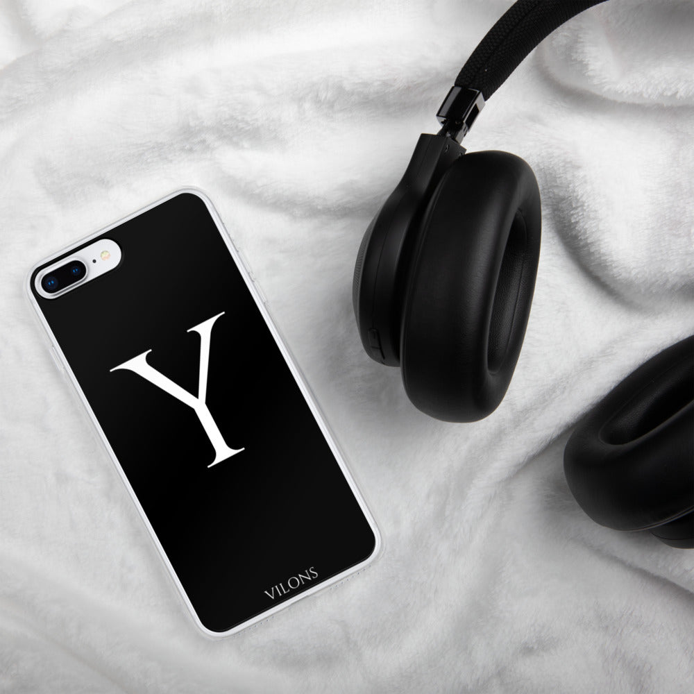 Y BLACK iPhone Case