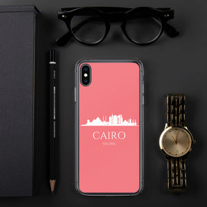 CAIRO PINK/WHITE iPhone Case