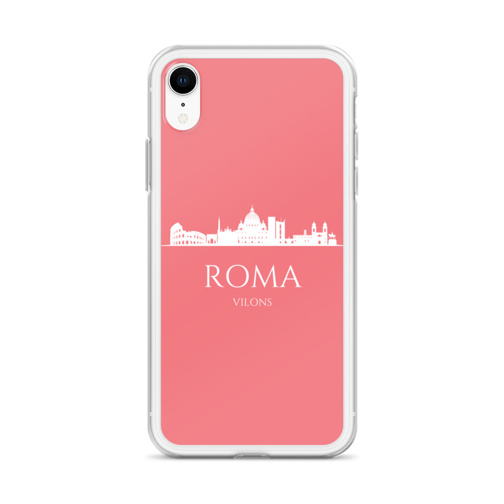 ROMA PINK/WHITE iPhone Case
