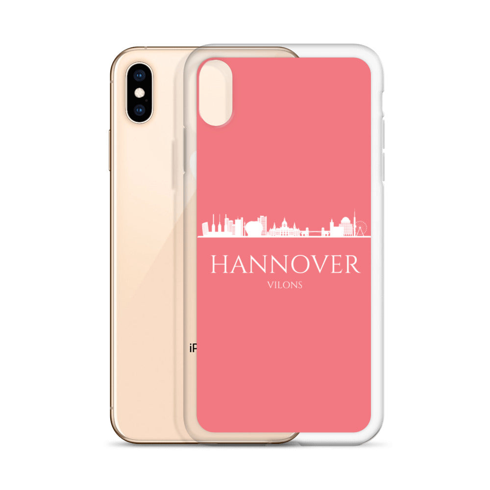 HANNOVER PINK/WHITE iPhone Case