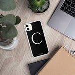 Load image into Gallery viewer, C BLACK iPhone Case
