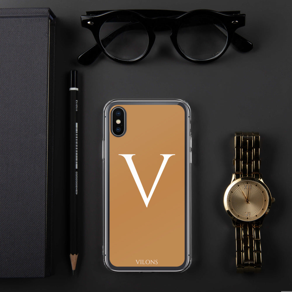 V BROWN iPhone Case