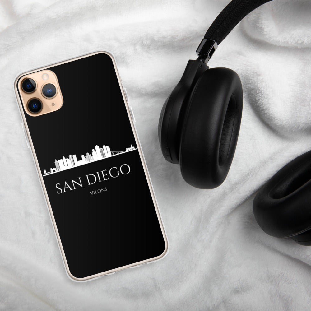 SAN DIEGO DARK iPhone Case