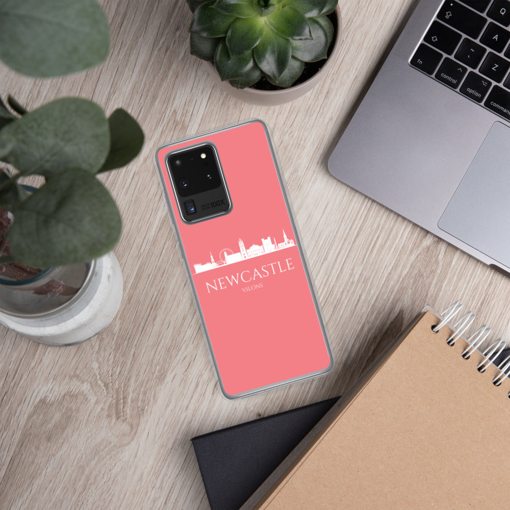 NEWCASTLE PINK/WHITE Samsung Case