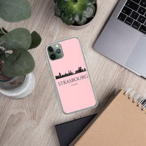 STRASBOURG PINK iPhone Case