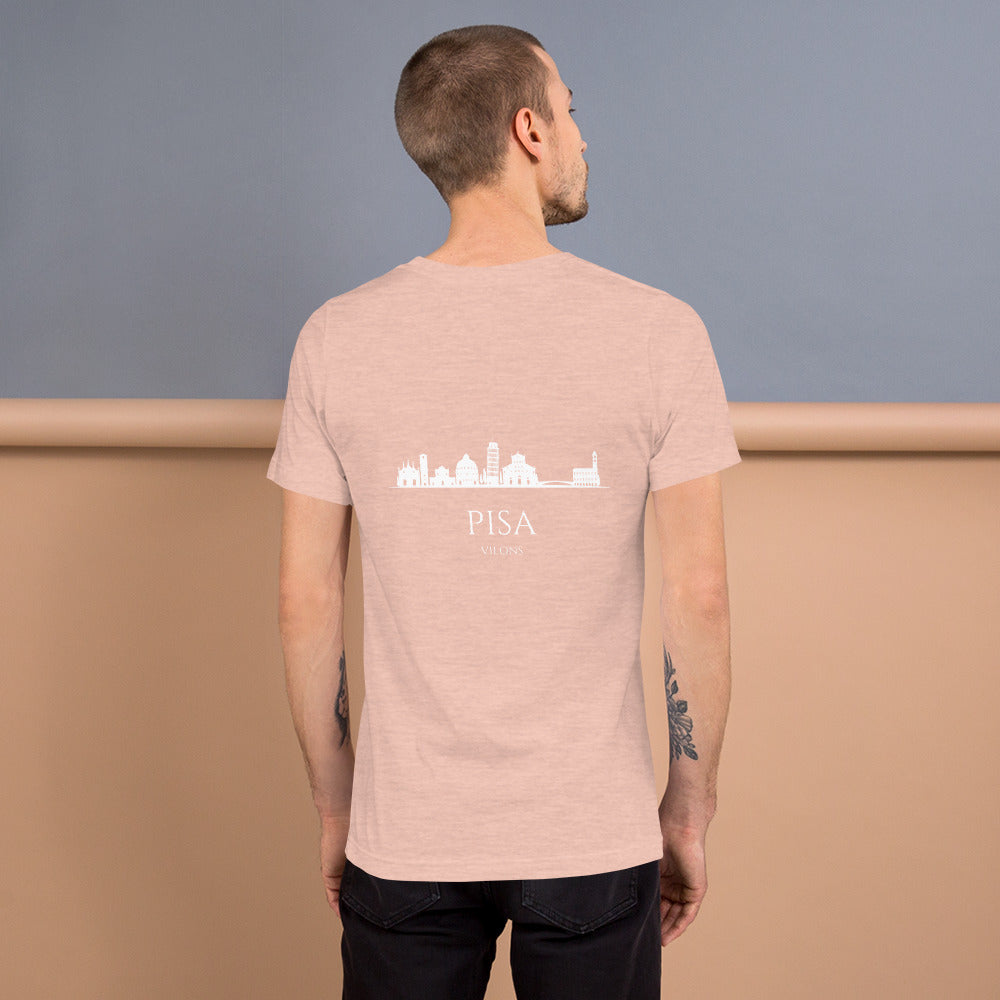 PISA DARK Short-Sleeve Unisex T-Shirt