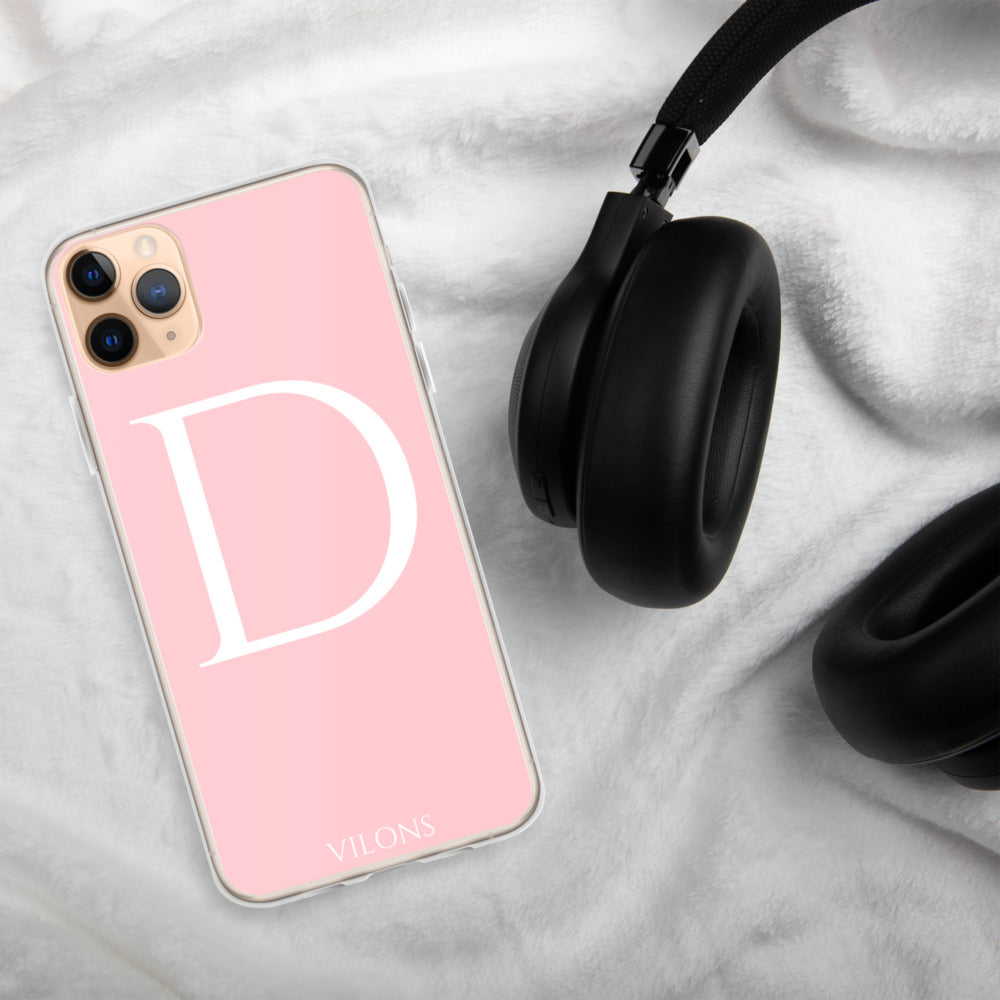 D PINK iPhone Case