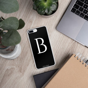 B BLACK iPhone Case