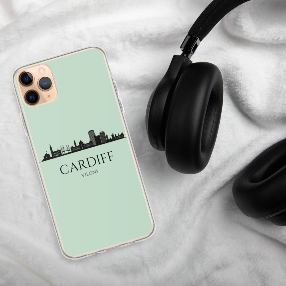 CARDIFF GREEN iPhone Case