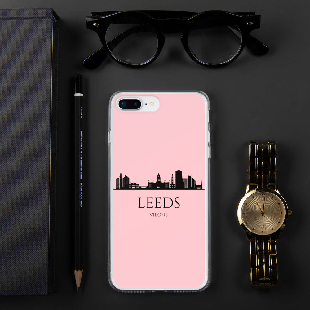 LEEDS PINK iPhone Case