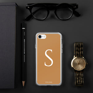 S BROWN iPhone Case