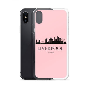 LIVERPOOL PINK iPhone Case