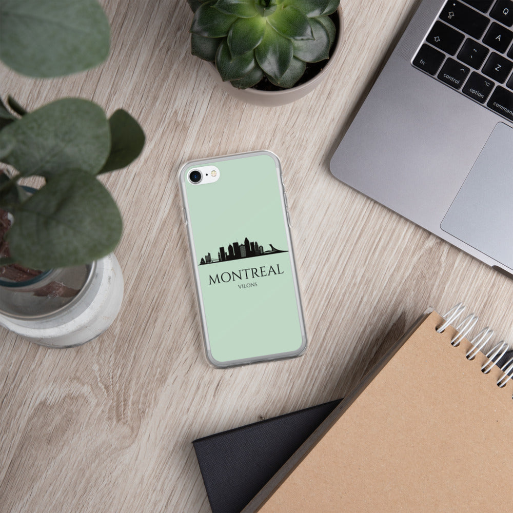 MONTREAL GREEN iPhone Case