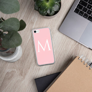 M PINK iPhone Case