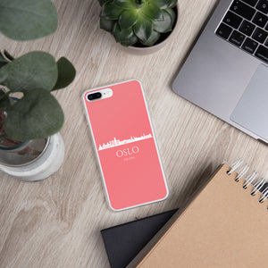 OSLO PINK/WHITE iPhone Case