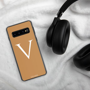 V BROWN Samsung Case