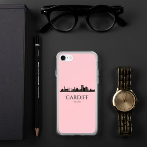 CARDIFF PINK iPhone Case