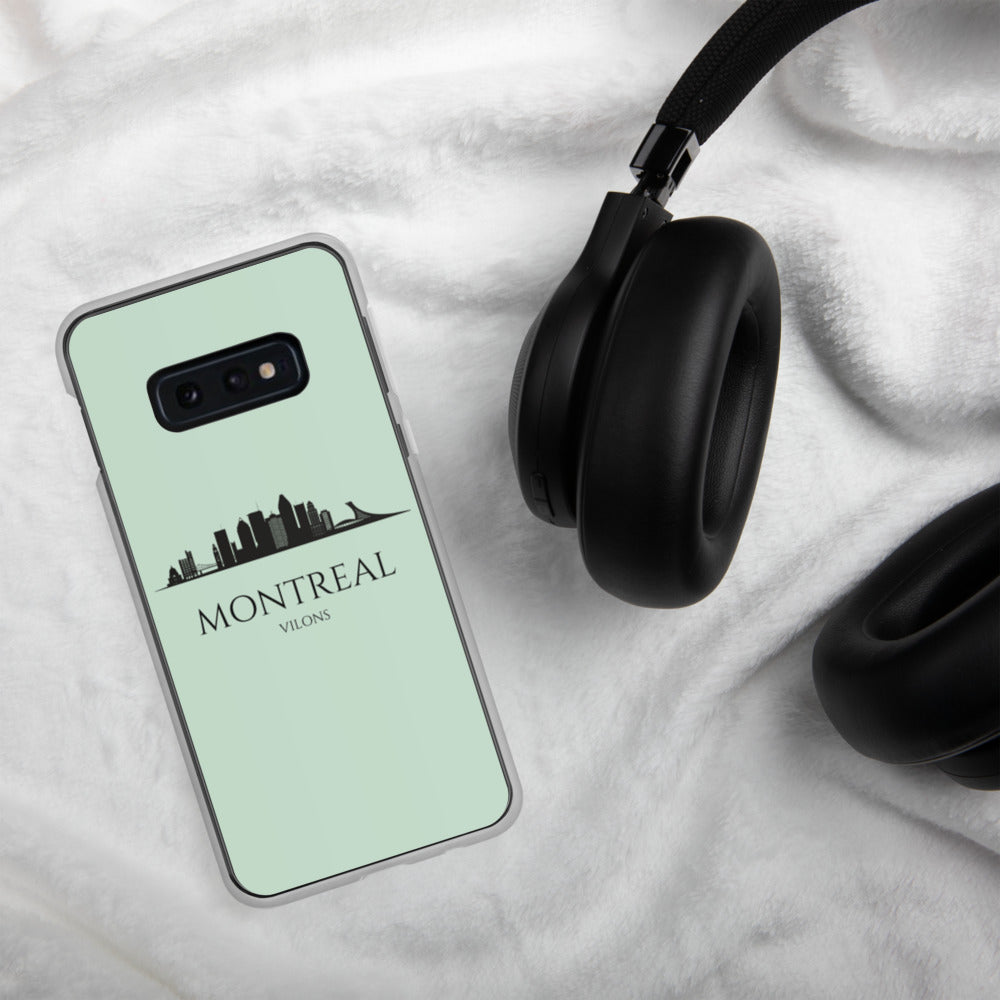 MONTREAL LIGHT BLUE Samsung Case