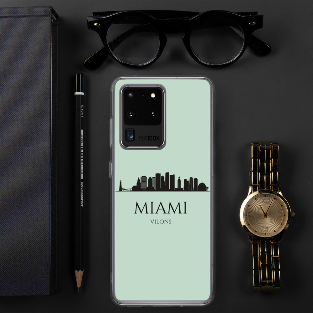 MIAMI LIGHT BLUE Samsung Case