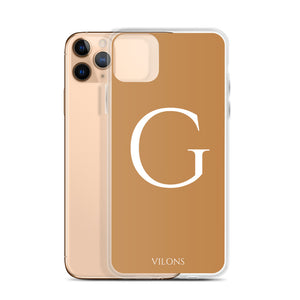 G BROWN iPhone Case