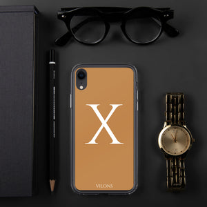 X BROWN iPhone Case