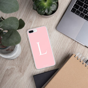 L PINK iPhone Case