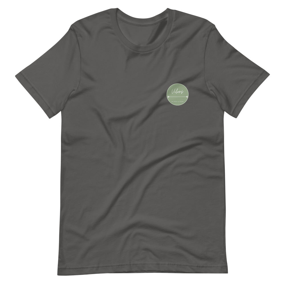 LISBOA DARK Short-Sleeve Unisex T-Shirt