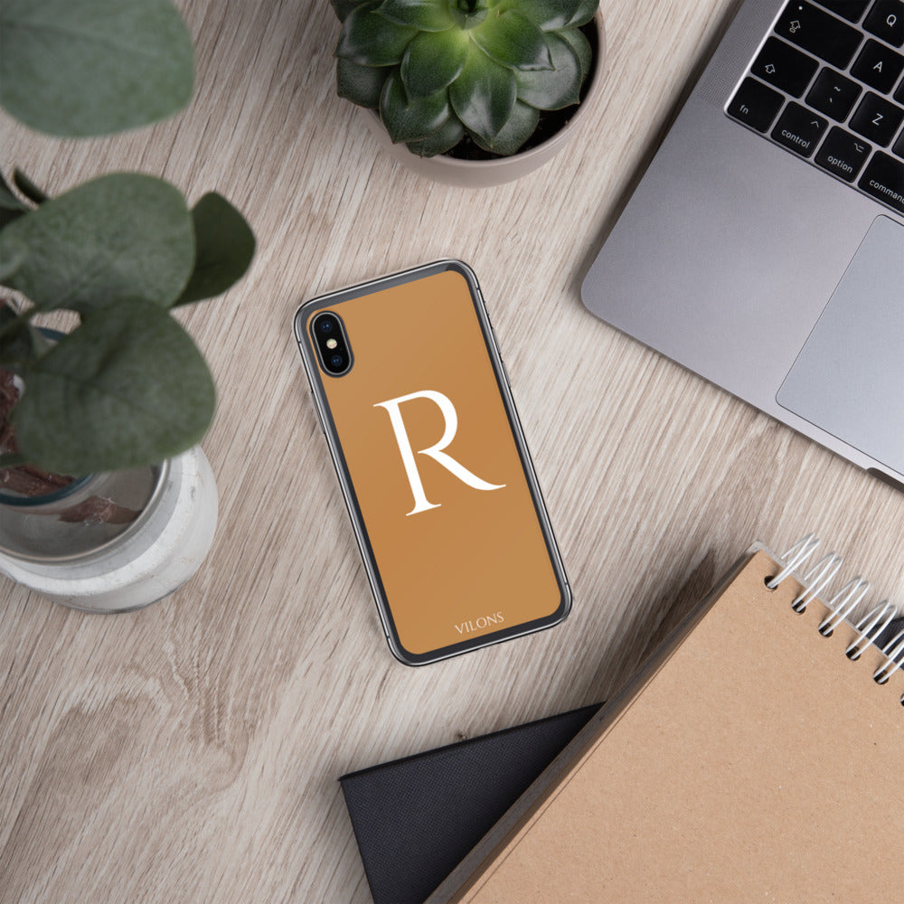 R BROWN iPhone Case