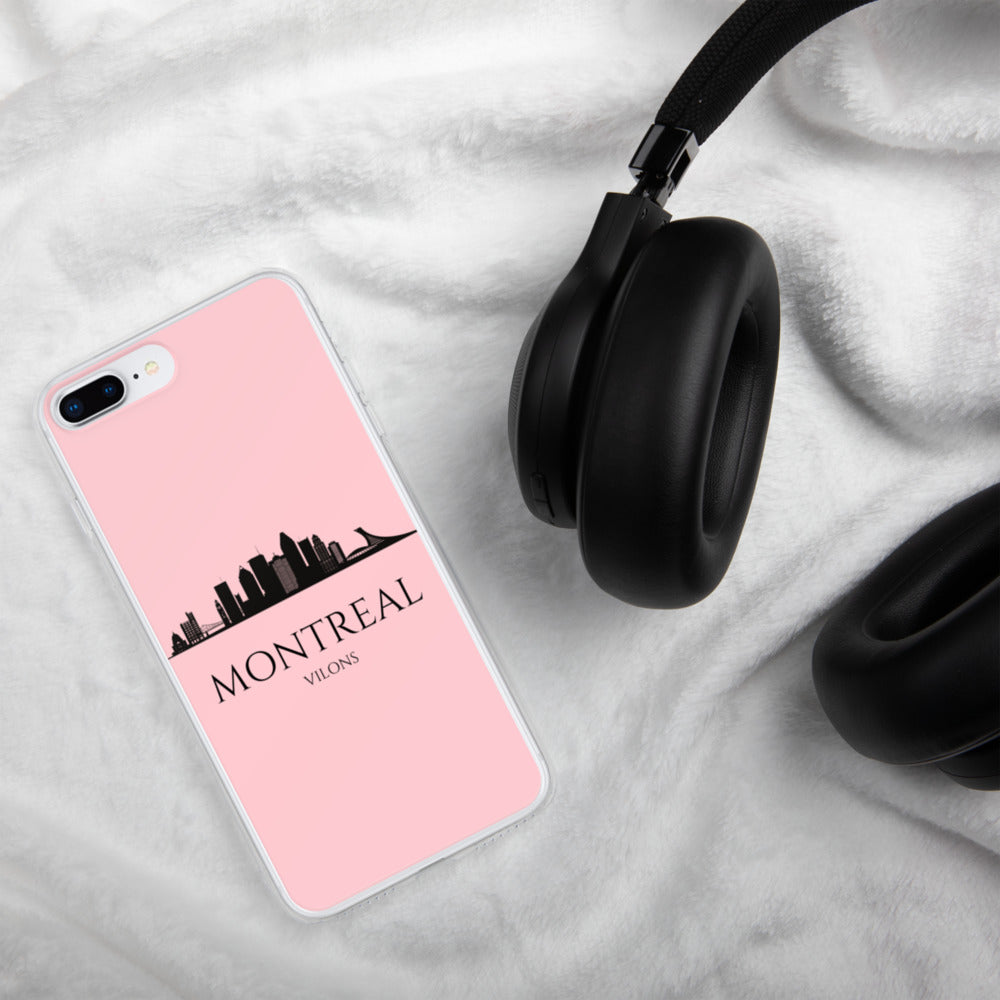 MONTREAL PINK iPhone Case