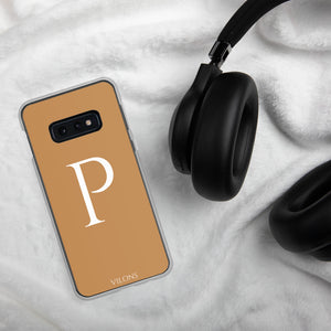 P BROWN Samsung Case