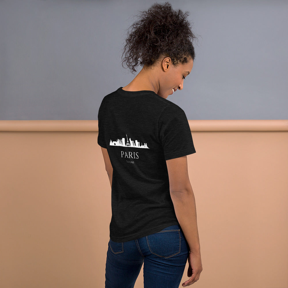 PARIS DARK Short-Sleeve Unisex T-Shirt