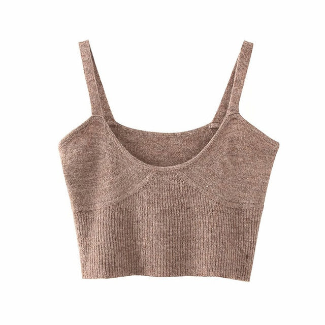 Fashion Knitted Sweater Top