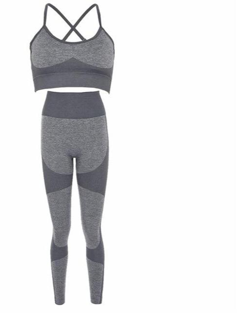 Stripe Fitness Tracksuit Set