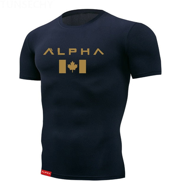 Men´s Fitness Alpha T-shirt Usa Canada