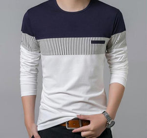 Men's Long Sleeve O-Neck T Shirt