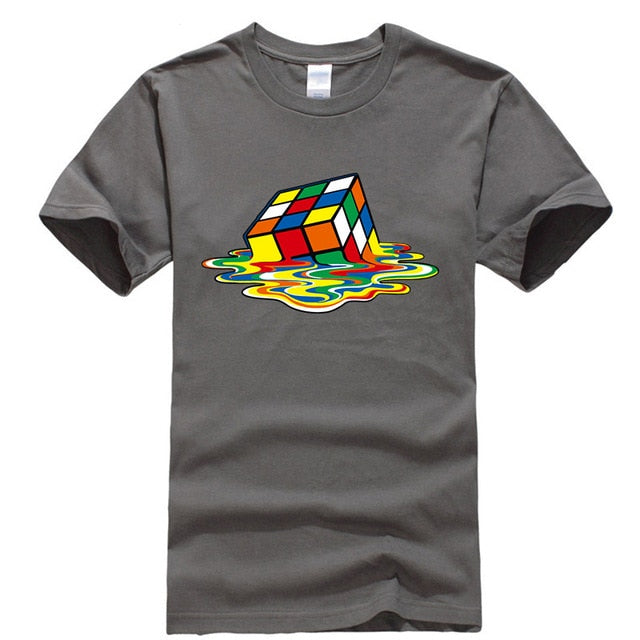 Men's Casual Magic Square T-shirt