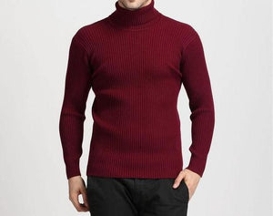 Men's Classic Pullover Turtleneck Sweater