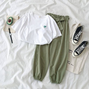 Women's Casual Set Top and Pants