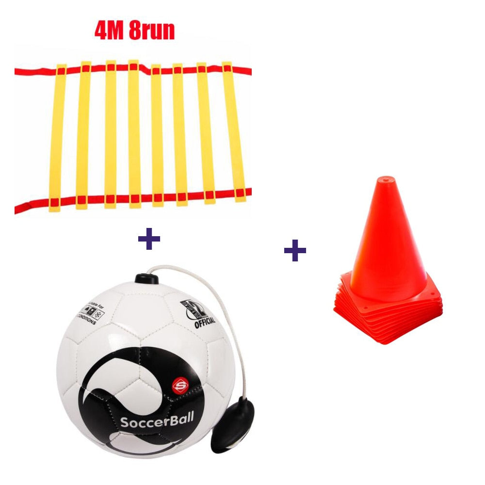 Soccer Ball + Practice Belt Training Equipment