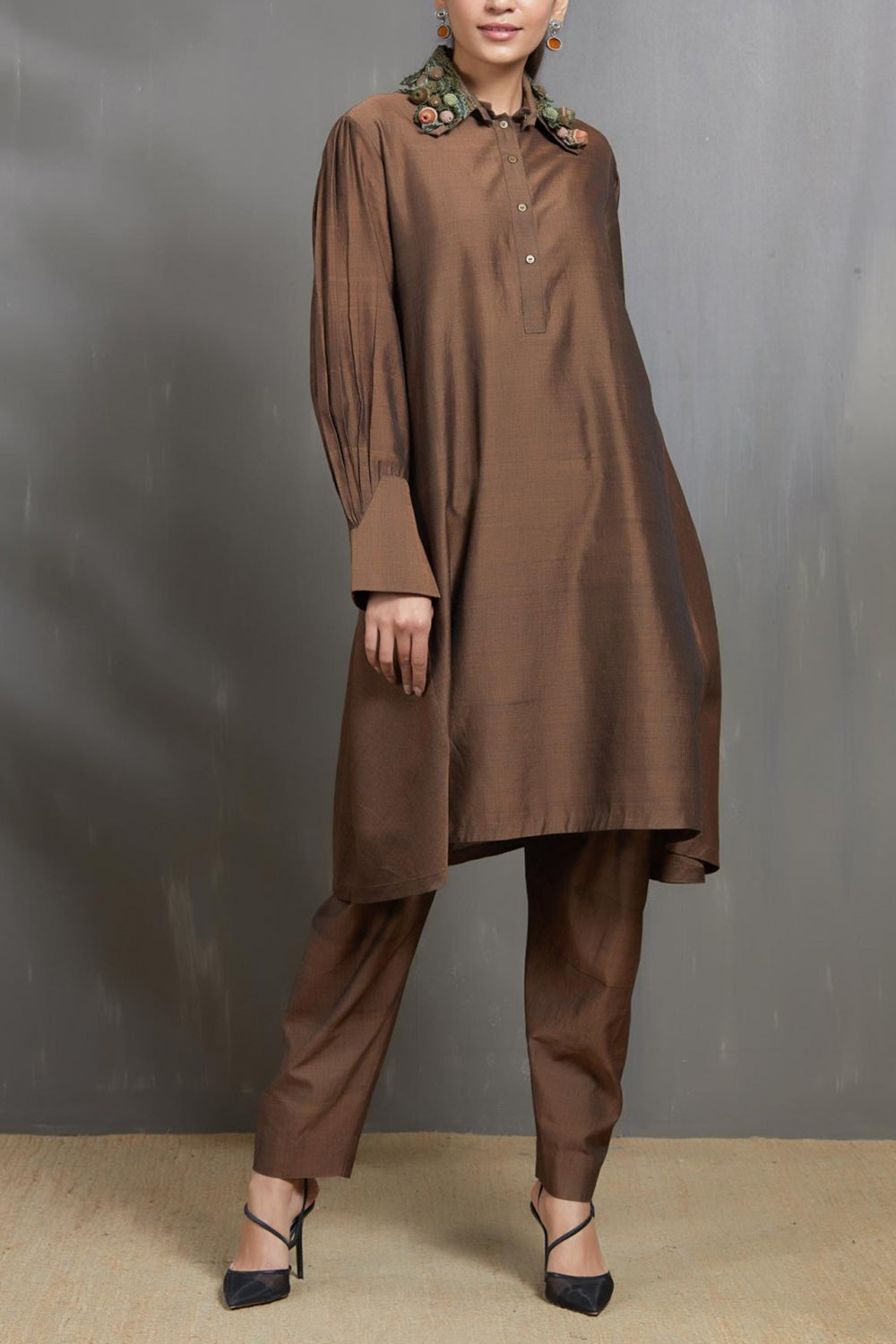 Rust Tunic with Trousers