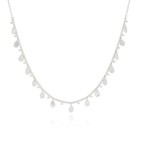 Anna Beck Necklace Chocker 0121N SLV