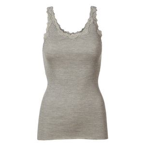 Rosemunde 5357  Babette top in Light Grey