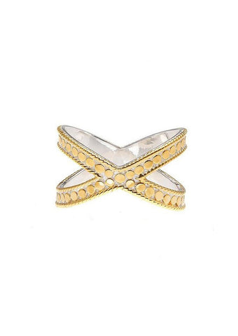 Anna Beck Ring 6460R Cross in Gold