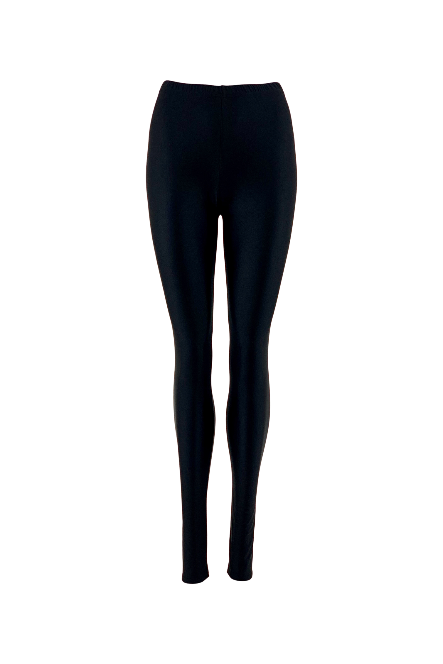Black colour Black Leggings 3738